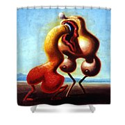 Monumental Passion Shower Curtain