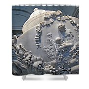 Monumental Urn -- By Clodion? Shower Curtain