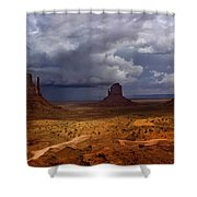 Monuments Of The West Shower Curtain