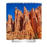 Monuments Of Time Shower Curtain