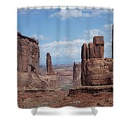 Monuments Shower Curtain