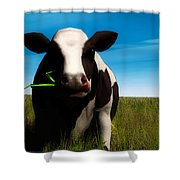Moo... Shower Curtain