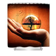 Mood Pic Shower Curtain