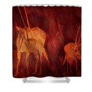 Moods Of Africa - Gazelle Shower Curtain