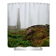 Moody Cornwall  Shower Curtain
