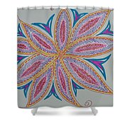 Moody Creation Shower Curtain