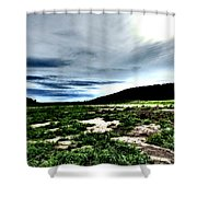 Moody Mother  Shower Curtain