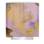 Moody Rose Shower Curtain