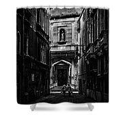 Moody Venice Shower Curtain