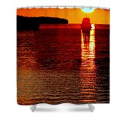 Moon Dance Shower Curtain