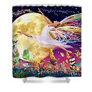 Moon Fairy Variant 1 Shower Curtain