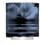 Moon Glow Double Vision Shower Curtain