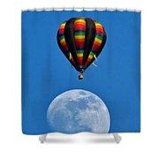 Moon Landing Shower Curtain