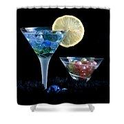 A Creative Cocktail - Moon Light Cocktail Lemon Flavour 1 Shower Curtain