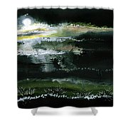 Moon N Light Shower Curtain