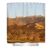 Moon Over Cimarron Shower Curtain by Eric Glaser