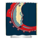 Moon Phase In Hope Shower Curtain