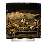 Moon Rover Shower Curtain