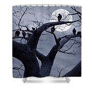 Moon Whisperer II Shower Curtain