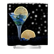 Creative - Moonlight Dark Star Cocktail Lemon Flavoured 1 Shower Curtain