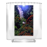 Moonlight Falls Shower Curtain