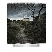 Moonlight Farm Shower Curtain