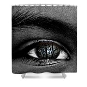 Moonlight In Your Eyes Shower Curtain