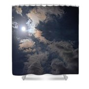 Moonlight Madness Shower Curtain