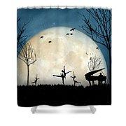 Moonlight Melody..new Shower Curtain