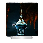 Moonlight Minaret Shower Curtain