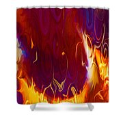 Moonlight Serenade I Shower Curtain