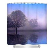 Moonlight Sonata Shower Curtain