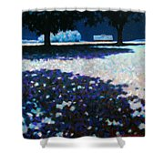 Moonlit Acres Shower Curtain