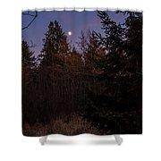 Moonlit Evening Shower Curtain