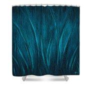 Moonlit Grass Shower Curtain
