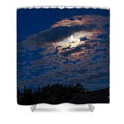 Moonscape Shower Curtain by Robert Bales