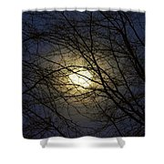 Moonshine Shower Curtain