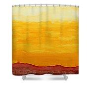 Moonshine Original Painting Sold Shower Curtain