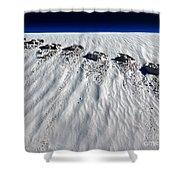 Moonwalking Shower Curtain