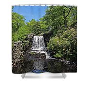 Moore State Park Waterfall 3 Shower Curtain