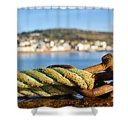 Mooring Lines Shower Curtain