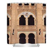 Moorish Arches Madrid Shower Curtain