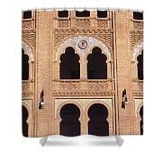 Moorish Arches Madrid Shower Curtain