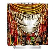 Moorish Market In Granada 2 Shower Curtain