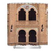 Moorish Windows Madrid Shower Curtain