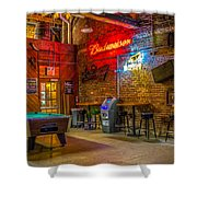 Moosehead Saloon Shower Curtain