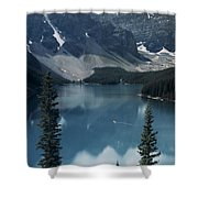 Morain Lake Shower Curtain