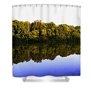 Moraine View State Park Pano 20140718-01 Shower Curtain