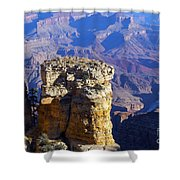 Moran Point Shower Curtain