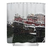 Moran Towing Shower Curtain